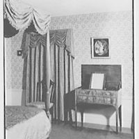 Mr. and Mrs. Jerome W. Blum, residence at 3 Willow Ln., Scarsdale, New York. Bedroom I