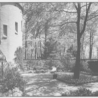 Mrs. Coster Morris, residence in Brookville, Long Island, New York. Courtyard I