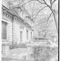 Mrs. Coster Morris, residence in Brookville, Long Island, New York. South facade III