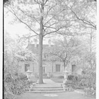 Mrs. Coster Morris, residence in Brookville, Long Island, New York. South facade I
