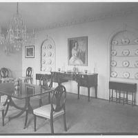 Mrs. George F. Ryan, Vaucluse, residence in Portsmouth, Rhode Island. Dining room II