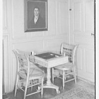 Mrs. Lawrence J. Ullman, business in Tarrytown, New York. Game table