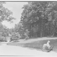 Paul Mellon, residence in Upperville, Virginia. Hobbyhorse