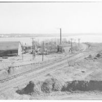 Potomac Electric Power Co. Alexandria plant. Ground site for Potomac Electric Power Co. Alexandria plant III