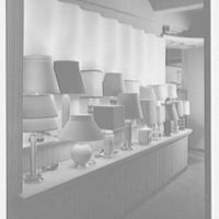 Rembrandt Lamps, business at 206 Lexington Ave., New York City. Interior IV, A & B