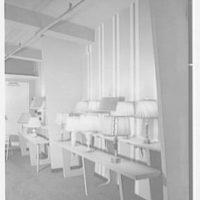 Rembrandt Lamps, business at 206 Lexington Ave., New York City. Interior V
