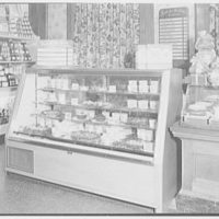 Schrafft's, 57th St. and 3rd Ave., New York City. Food case III
