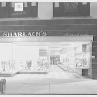 Sharlach's, business at 55 Mamaroneck Ave., White Plains, New York. Exterior