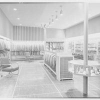 Sharlach's, business at 55 Mamaroneck Ave., White Plains, New York. General interior from entrance