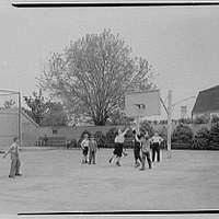 St. Vincent de Paul Institute, 261 S. Broadway, Tarrytown, New York. Basketball