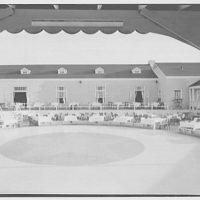 Surf Club, Atlantic Beach, Long Island, New York. Open air dance floor