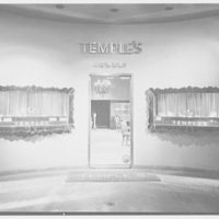 Temple's, business on 5th Ave., New York City. Exterior