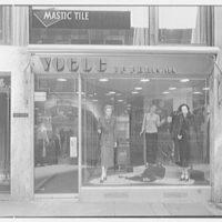 Vogue of Paris, business on W. 57th St., New York City. Exterior