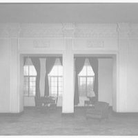 Westchester Apartments. Old lobby B of Westchester Apartments I