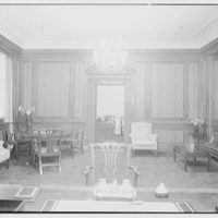 William R. Warner Co., 18th St. and 6th Ave., New York City. Mr. Bobst's desk, to secretary's office