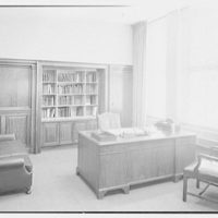 William R. Warner Co., 18th St. and 6th Ave., New York City. Mr. E. Walton Bobst's office
