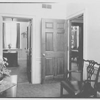 William R. Warner Co., 18th St. and 6th Ave., New York City. Mr. Pfeiffer's entrance lobby, to secretary's office