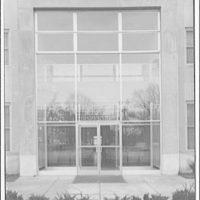 A.F. Jorss Iron Works Inc. Entrance to George Washington Hospital dispensary