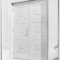 A.F. Jorss Iron Works Inc. Metal door at George Washington Hospital
