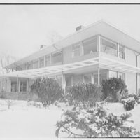 Bernard Tomson, residence at 1 Shore Dr., Kings Point, Great Neck, Long Island. Exterior V