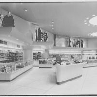 Bond's, business at 5th Ave. and 35th St., New York City. First floor, to display fins
