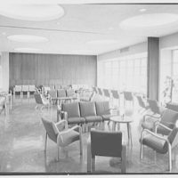 Brooklyn Jewish Home for Convalescents, Beach and 9th St., Far Rockaway, New York. Living room