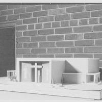 Church of St. Clement, 1701 N. Quaker Lane, Alexandria, Virginia. Model
