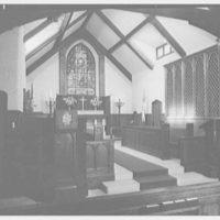 Church of the Advent, Westbury, Long Island, New York. Chancel, detail