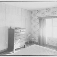 Donald C. Little, residence in Syosset, Long Island, New York. Bedroom detail
