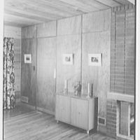 Donald C. Little, residence in Syosset, Long Island, New York. Dining room section II
