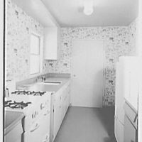 Donald C. Little, residence in Syosset, Long Island, New York. Kitchen