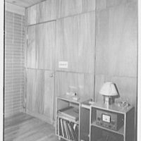 Donald C. Little, residence in Syosset, Long Island, New York. Wall near entrance door