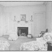 General Dwight D. Eisenhower, residence at 60 Morningside Drive, New York City. Master bedroom II
