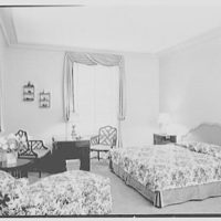 General Dwight D. Eisenhower, residence at 60 Morningside Drive, New York City. Master bedroom I