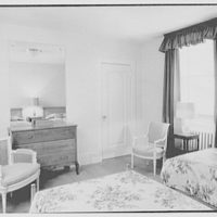 General Dwight D. Eisenhower, residence at 60 Morningside Drive, New York City. Guest room no. 3