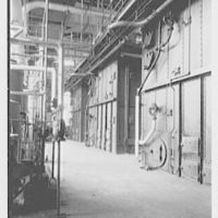 General Electric, Electronic Park, Syracuse, New York. Boiler room, to boiler