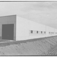 General Electric, Electronic Park, Syracuse, New York. Receiving building (exterior of assembly line)