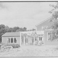 Geoffrey Platt, residence on Crow Hill Rd., Mount Kisco, New York. Exterior I