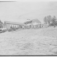 Geoffrey Platt, residence on Crow Hill Rd., Mount Kisco, New York. Exterior II