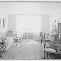 Green Acres, Verona, New Jersey. Apartment 105, living room