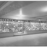 Hoffritz for Cutlery, business in New York City. Commodore concourse