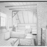 Horace Flanigan, residence on Anderson Hill Rd., Purchase, New York. Rumpus dormitory
