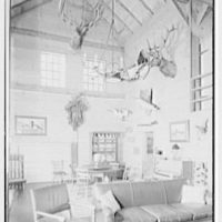 Horace Flanigan, residence on Anderson Hill Rd., Purchase, New York. Rumpus house, interior I