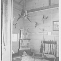 Horace Flanigan, residence on Anderson Hill Rd., Purchase, New York. Rumpus house, interior IV