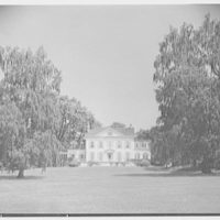 Horace Flanigan, residence on Anderson Hill Rd., Purchase, New York. South facade I