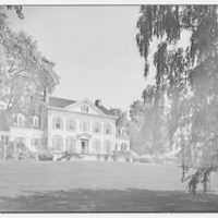 Horace Flanigan, residence on Anderson Hill Rd., Purchase, New York. South facade II
