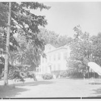 Horace Flanigan, residence on Anderson Hill Rd., Purchase, New York. South facade IV