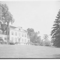 Horace Flanigan, residence on Anderson Hill Rd., Purchase, New York. South facade III