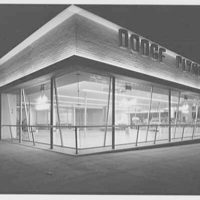 L Motors, business at 175th St. and Broadway, New York City. Rear view