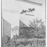 Lord & Taylor, business in Scarsdale, New York. North facade IV